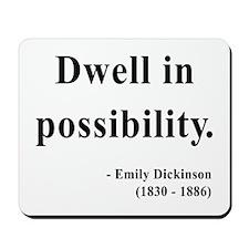 Emily Dickinson 2 Mousepad