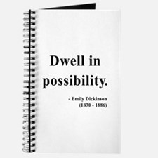 Emily Dickinson 2 Journal