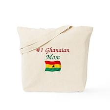 #1 Ghanaian Mom Tote Bag