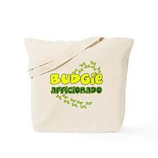 Afficionado Budgie Tote Bag