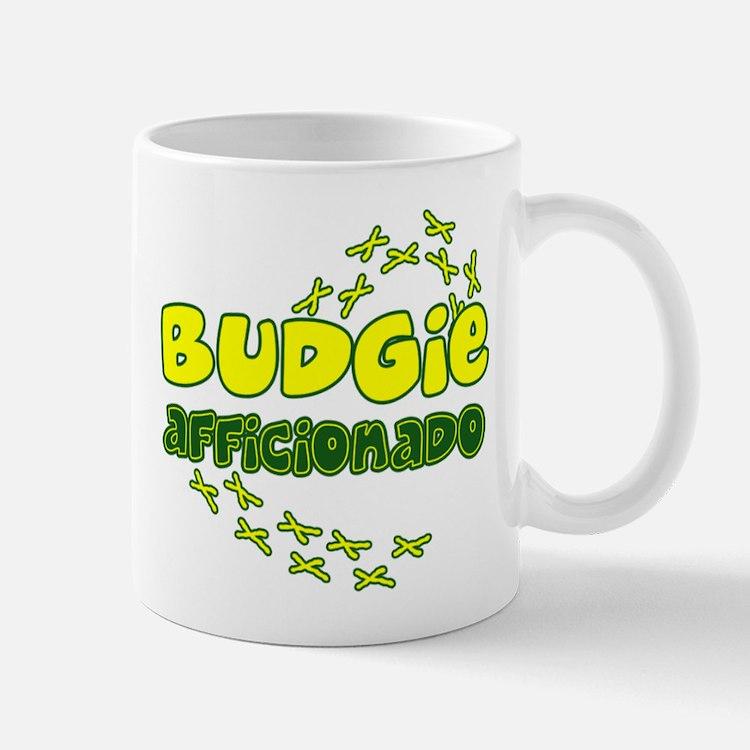 Afficionado Budgie Mug
