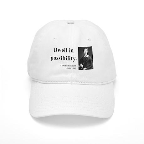 Emily Dickinson 2 Cap