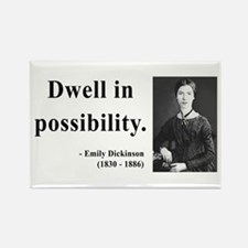 Emily Dickinson 2 Rectangle Magnet