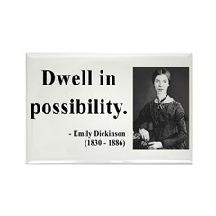 Emily Dickinson 2 Rectangle Magnet (100 pack)