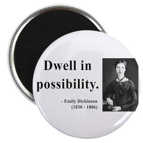 """Emily Dickinson 2 2.25"""" Magnet (10 pack)"""