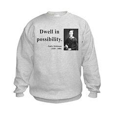 Emily Dickinson 2 Sweatshirt
