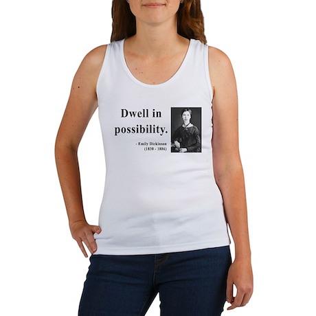 Emily Dickinson 2 Women's Tank Top