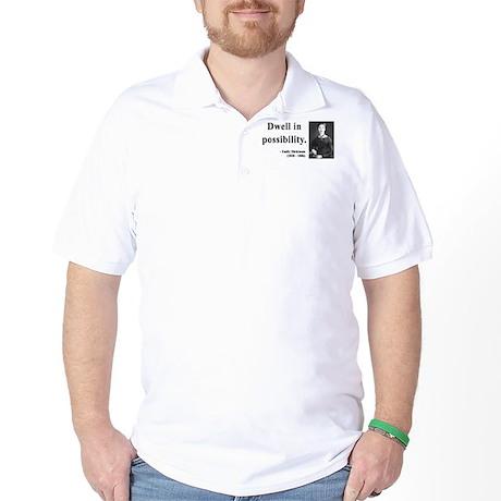 Emily Dickinson 2 Golf Shirt