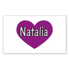 Natalia Rectangle Decal