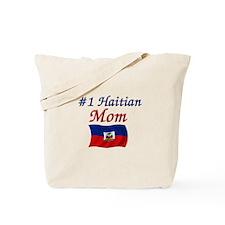 #1 Haitian Mom Tote Bag