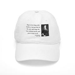 Emily Dickinson 1 Baseball Cap
