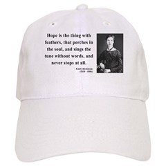 Emily Dickinson 1 Baseball Cap