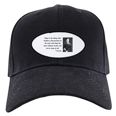 Emily Dickinson 1 Baseball Hat