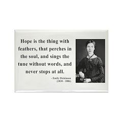 Emily Dickinson 1 Rectangle Magnet