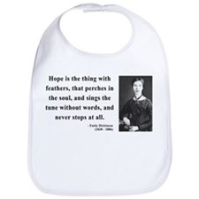 Emily Dickinson 1 Bib