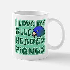 Kawaii Blue Headed Pionus Mug