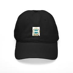 AUGER Family Crest Black Cap