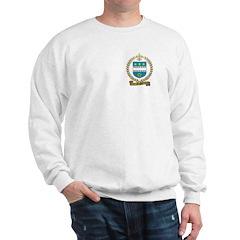 AUGER Family Crest Sweatshirt