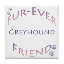 Greyhound Furever Tile Coaster