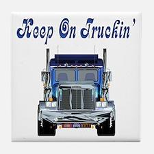 Trucker's Tile Coaster