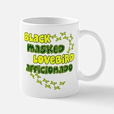 Afficionado Black Masked Lovebird Mug