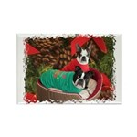 BOSTON LOVE AT XMAS Rectangle Magnet (100 pack)