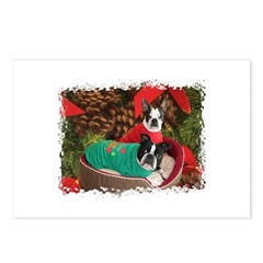 BOSTON LOVE AT XMAS Postcards (Package of 8)