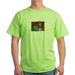 BOSTON LOVE AT XMAS Green T-Shirt