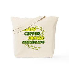 Afficionado Black Cap Conure Tote Bag