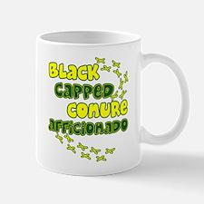 Afficionado Black Cap Conure Mug