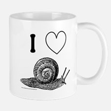 I HEART SNAILS Small Small Mug