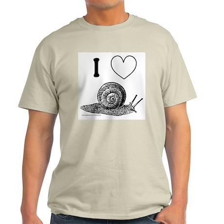 I HEART SNAILS Light T-Shirt