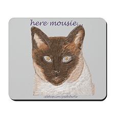 """here mousie"" Luke Mousepad"