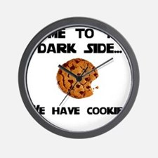Come to the Dark Side Wall Clock