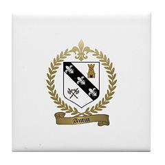 AUTIN Family Crest Tile Coaster