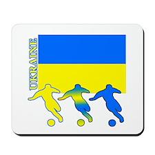 Ukraine Soccer Mousepad