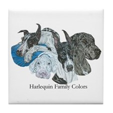 HF Colors Tile Coaster