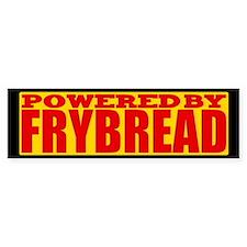 Powered By Frybread Bumper Bumper Sticker