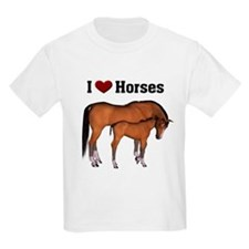 Love My Horse Kids T-Shirt