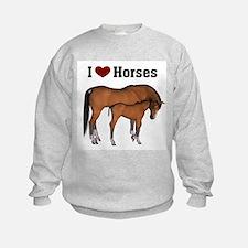 Love My Horse Sweatshirt