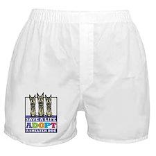 Adopt a German Shepherd Boxer Shorts