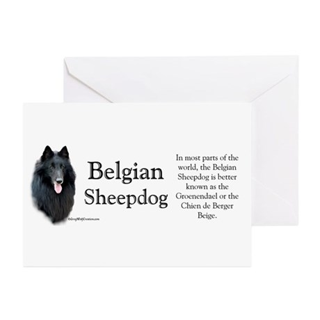 Belgian Sheep Profile Greeting Cards (Pk of 10)