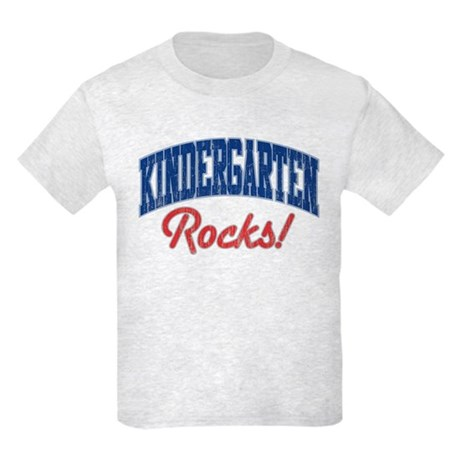 KINDERGARTEN ROCKS! Kids Light T-Shirt