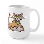 Catnipped Large Mug