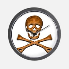 Jolly Roger 5 Wall Clock