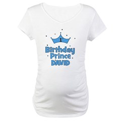 1st Birthday Prince David! Shirt