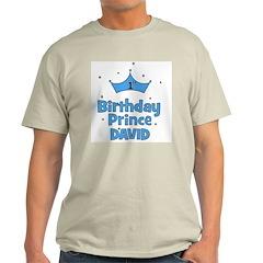 1st Birthday Prince David! T-Shirt