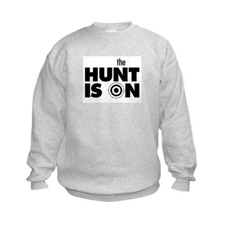 The Hunt is On Kids Sweatshirt