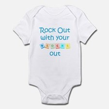 Rock Out With Your Blocks Out Onesie
