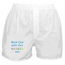Rock Out With Your Blocks Out Boxer Shorts